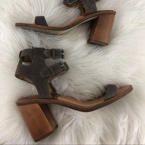 Women's dolce vita heels size 8 gray